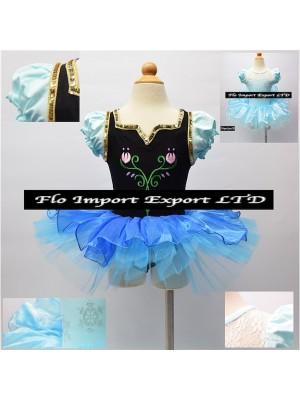 Vestito Tutù Danza Bambina Elsa Anna 00060-61