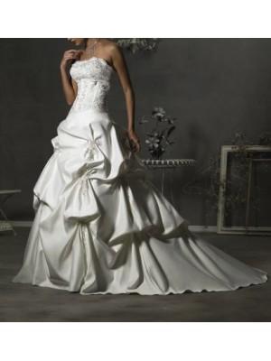 Abito da sposa Satin Ricamato 00102
