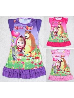 Masha e Orso Vestito Bambina Casual 00770082
