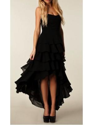 Vestito Lungo Donna Nero 110020