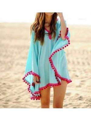 Vestito Copricostume Donna Mini Dress 110065