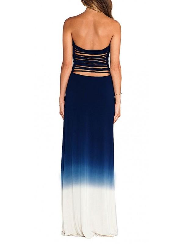 Mare Blu Donna Casual Vestiti Lunghi 110090 Nwmv8n0O