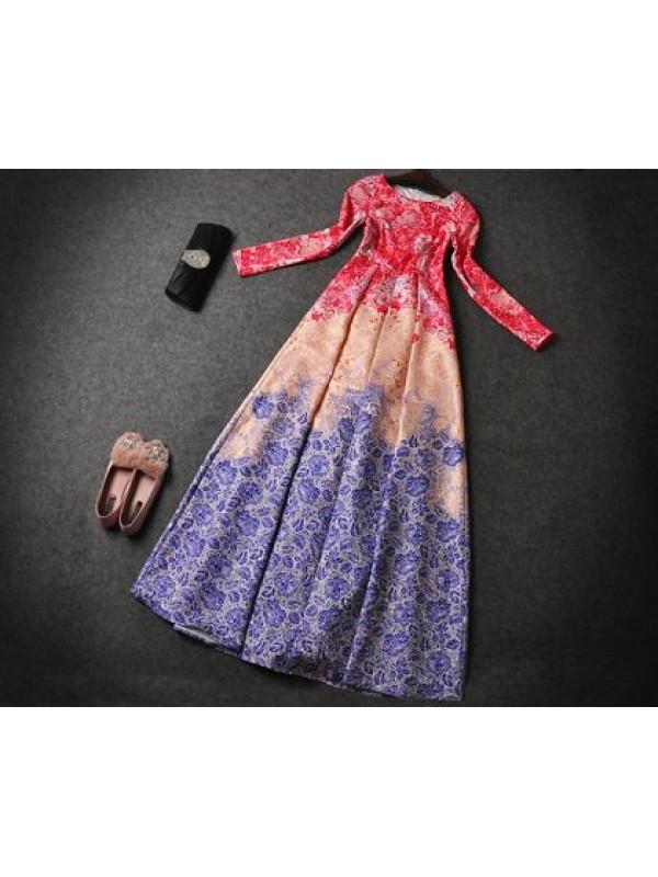 Vestito Donna Misto Seta o Chiffon Cerimonia 110108