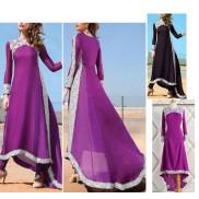 Vestito Asimmetrico Caftano Donna 110158