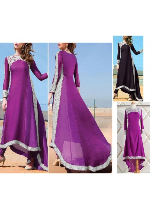 Vestito Asimmetrico Donna Caftano 110158