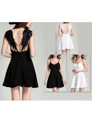 Vestito Mini Donna Decoro Spalle 110194