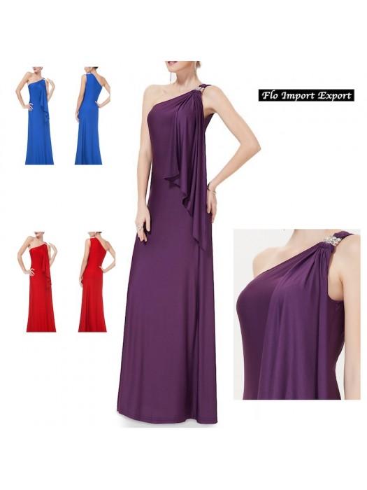 brand new 42748 8934c Vestito Lungo Donna da Sera Cerimonia 110287