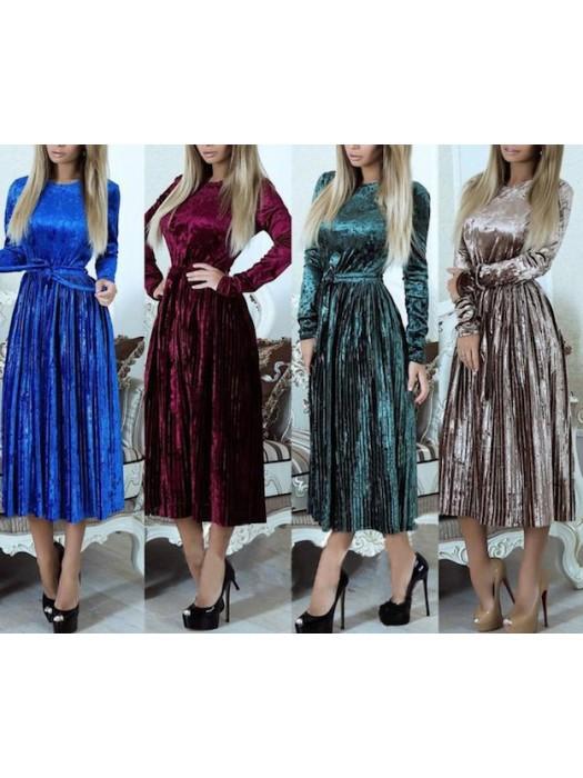 quality design 521db da50a Vestito Donna Abito Longuette Manica Lunga 110392