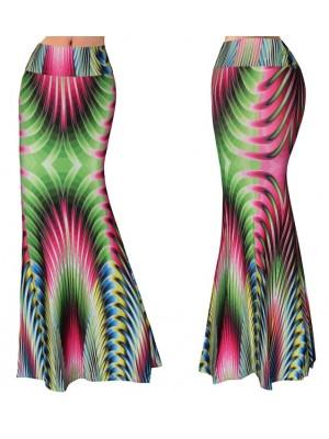 Gonna Lunga Donna Maxi Fantasia Multicolor 130058