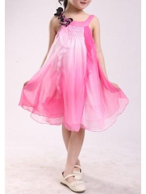Vestito Bambina Chiffon 4-10 anni 0004