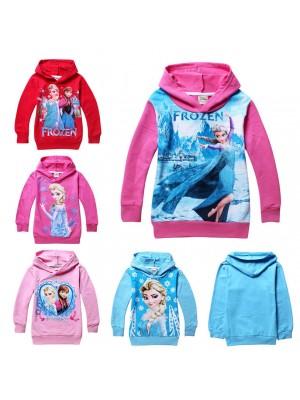 Frozen Felpa bambina Anna e Elsa 004101