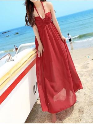 Vestito Lungo Donna Spiaggia 110022