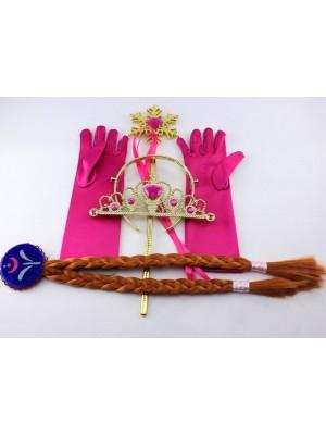 Frozen Vestiti Carnevale Anna Set Accessori 457002