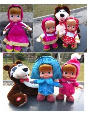 Masha e Orso Bambole e Peluche 458001-8