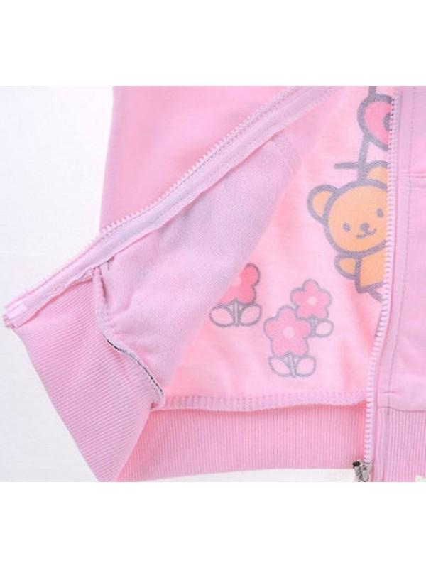 Hello Kitty tuta felpa manica lunga e pantaloni due colori 220001