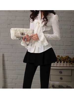 Camicia Donna Manica Lunga Casual 541001