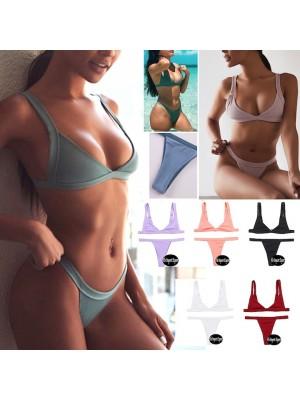Costume da Bagno Due Pezzi Bikini Donna Brasiliano 550044