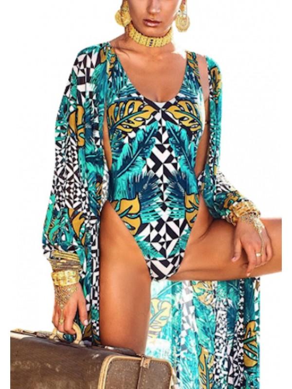 Costume da Bagno Intero Donna Mare con Copricostume 550060