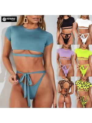 Costume Bagno 2 Pezzi Bikini Mare Donna Brasiliano 550073