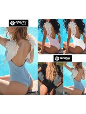 Costume Bagno Intero Mare Donna Spalle Decorate 550085