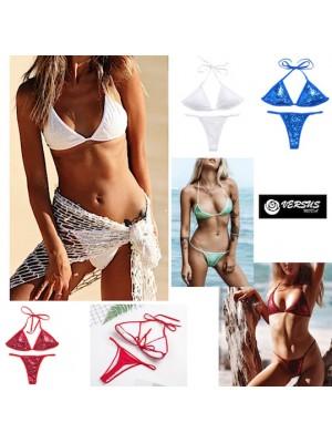 Costume Bagno 2 Pezzi Bikini Tanga Mare Donna 550093