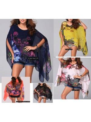 Camicia Donna Caftano Chiffon 561008