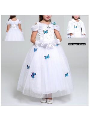 Cenerentola Sposa Vestito Carnevale Maschera 567030