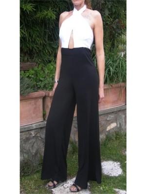Tuta Pantaloni Larghi Donna 660001