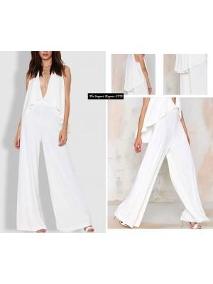 Tuta Pantaloni Donna Scollo V 660007