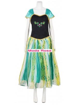 Frozen Vestiti Carnevale Anna Donna Adulto 6699001