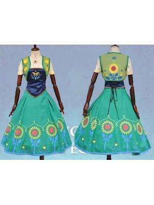 Frozen Fever Vestito Carnevale Anna Donna 6699025