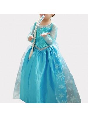 Frozen Vestiti Carnevale Elsa 2-12 anni 789005