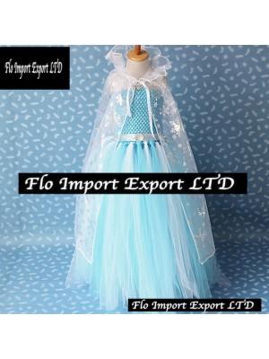Frozen Vestito Compleanno Carnevale in Tulle Elsa 789045B