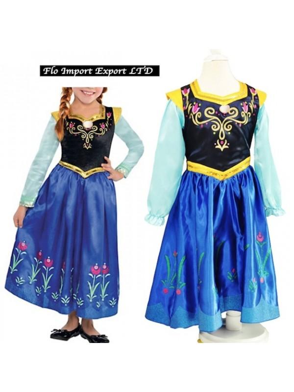 nuovi prodotti per il più votato reale preordinare Frozen Vestito Carnevale Anna 2-8 anni 789046