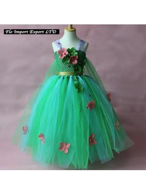 Frozen Fever Elsa Vestito in Tulle Compleanno Carnevale 789050
