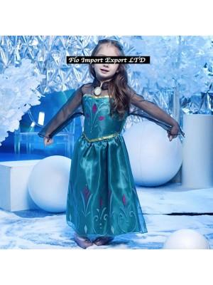 Frozen Elsa Incoronazione Vestito Carnevale 789051