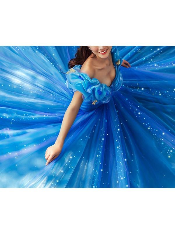 offerta speciale negozio ufficiale stile classico Cenerentola Vestiti Carnevale Donna 8855007