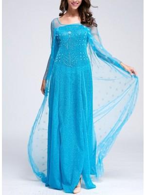 Frozen Vestito Carnevale Elsa Donna Adulto 8899002C