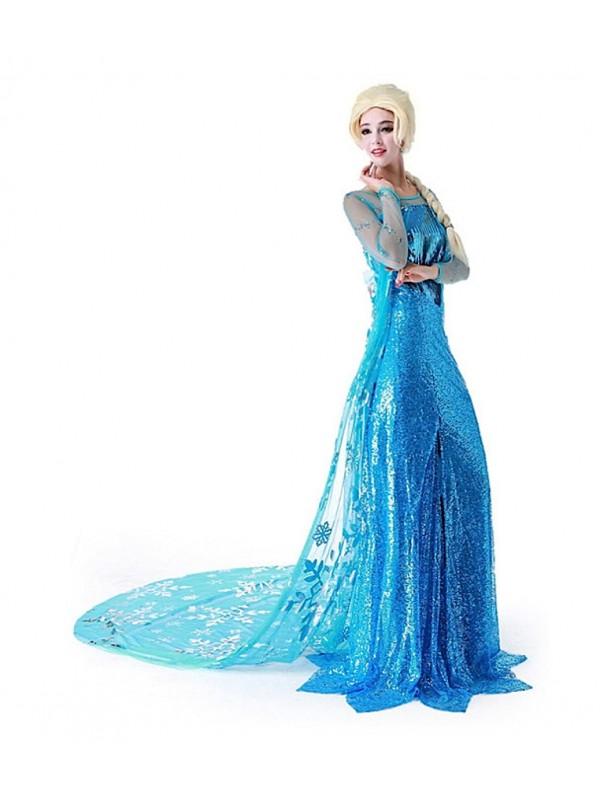 Carnevale 8899030 Adulto Elsa Frozen Vestiti Donna YXgqx58