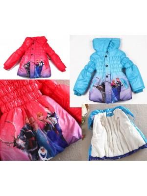 Frozen Giacca Bambina Piumino Inverno 3 - 7 anni 00190
