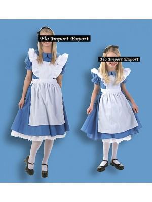 Alice Vestito Carnevale Donna Bambina ALICE01