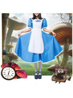 Alice Paese Meraviglie Vestito Carnevale Donna ALICE02