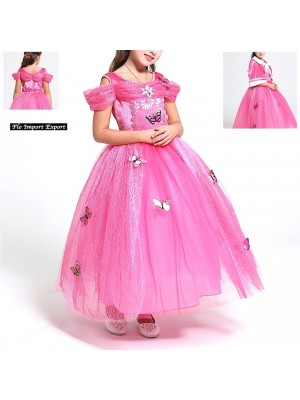 Aurora Vestito Carnevale Maschera Bella Addormentata Cosplay AUR015