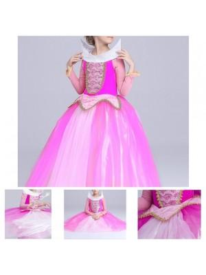 Aurora Vestito Bambina Carnevale Maschera AURDIR01