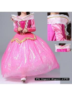 Aurora Vestito Bambina Carnevale Maschera AURDIR02