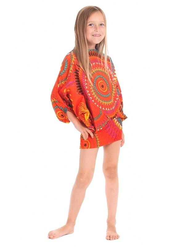 Pantaloni Blusa Caftano Tuta 3 Stili Bambina AVKIDPA0018
