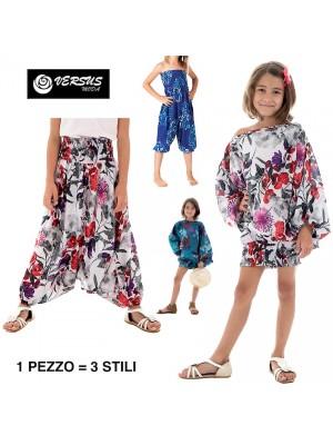 Pantaloni Blusa Caftano Tuta 3 Stili Bambina AVKIDPA0061O - J