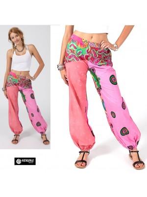 Pantaloni Etnici Donna in Cotone Boho Chic AVPL0162