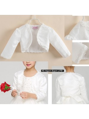 Coprispalle Bolerino Bambina per Cerimonia Elegante BB016