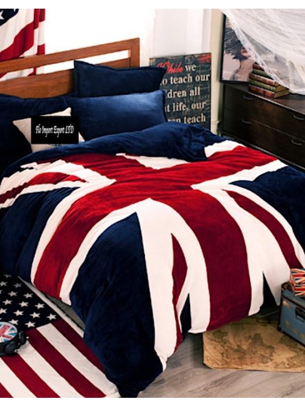 Copripiumino Matrimoniale Bandiera Inglese